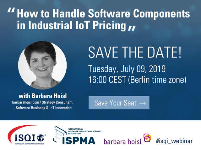 iSQI/ISPMA Webinar with Barbara Hoisl - July 9, 2019